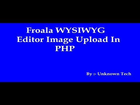 How to ajax image Upload with Froala editor in codeIgniter