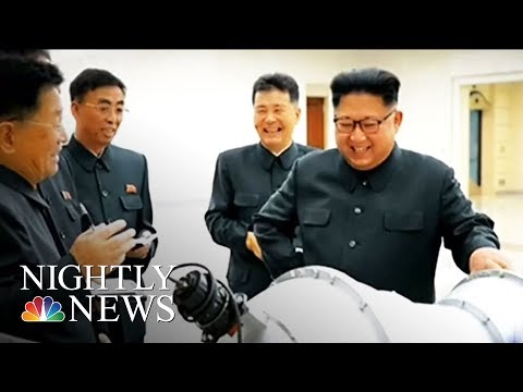 U.S. Says Kim Jong Un Is 'Begging For War'    NBC Nightly News