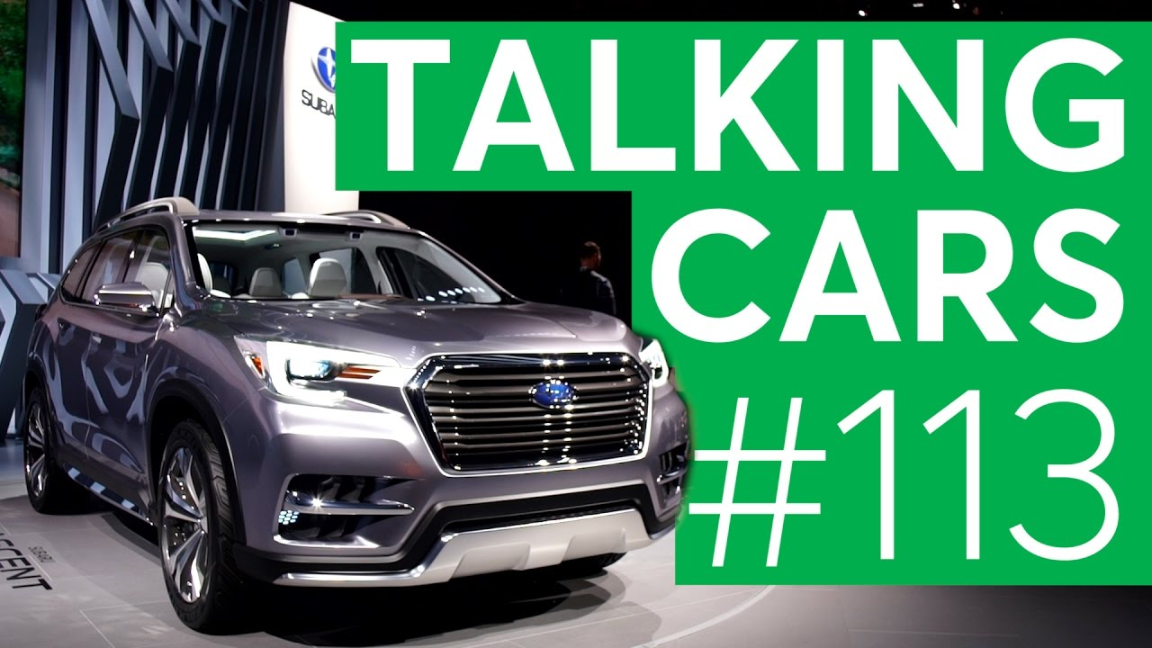 2017 New York Auto Show Talking Cars With Consumer Reports 113