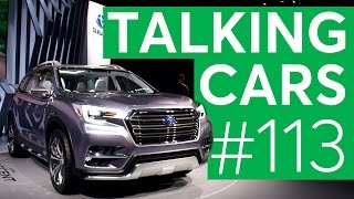 Talking Cars with Consumer Reports #113: 2017 New York Auto Show