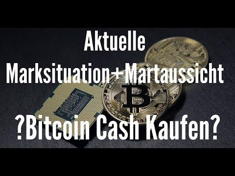 Aktuelle Marktsituation der Kryptowährung - Was erwartet uns? - Bitcoin Cash Kaufen?