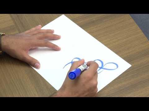 Arabic calligraphy and graffiti