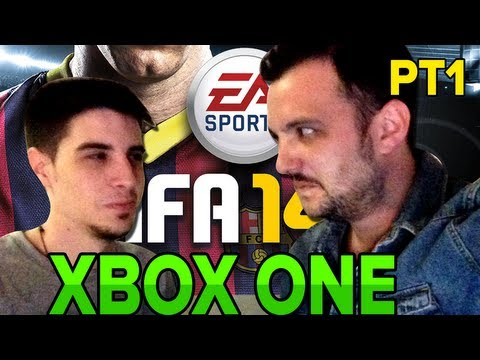 FIFA 14: XBOX ONE GAMEPLAY - Xavi vs Alexby (1a parte) - #EurogamerExpo