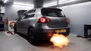 The High Mileage GTI is now a FLAMETHROWING Missile!