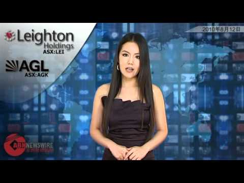 ABN Newswire Australian Market Report of August 12, 2010