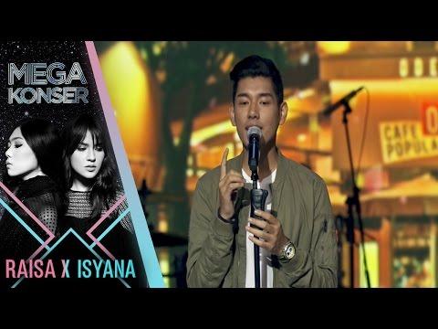 "Jaz ""kasmaran"" | Mega Konser Raisa X Isyana 2017"