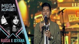 Jaz kasmaran Mega Konser Raisa X Isyana 2017