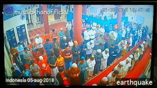 Indonesia earthquake 2018 | earthquake during Salah | musaibkhanofficial