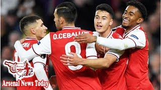 Arsenal 4-0 Standard Liege: Gabriel Martinelli shines in Europa League win- news today