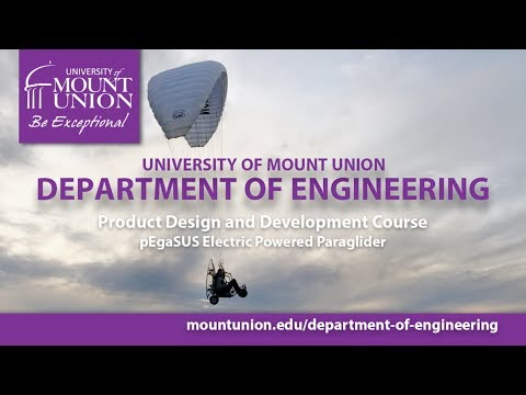 UMU Engineering, Business Students Take Flight in Personal Electric Paraglider