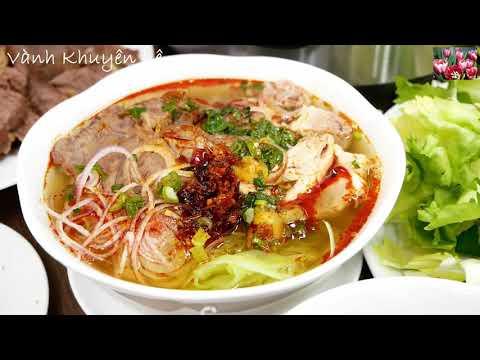 BÚN BÒ HUẾ Instant Pot - Bún Bò Giò Heo CẤP TỐC, thơm ngon tiết kiệm Điện by Vanh Khuyen