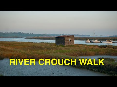 Walk Along The River Crouch, Essex (4K)