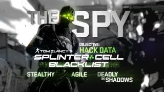 Splinter Cell Blacklist - The Spy - Kills Montage