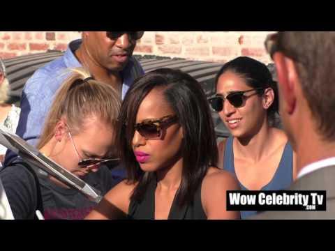 Kerry Washington spotted at Jimmy Kimmel Live
