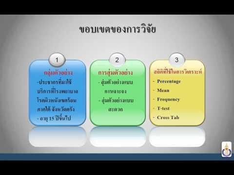 ตัวอย่างงาน PowerPoint 2013