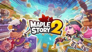 KAWAII CHIBI MMO! | Maple Story 2 First Look Gameplay (ENG,PC)