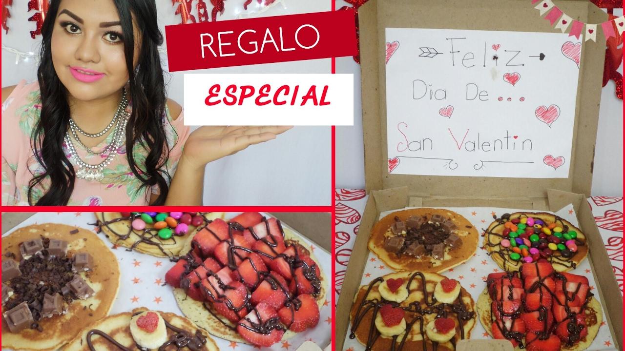 Hot cakes especiales regalo para san valentin youtube - Regalos especiales para san valentin ...