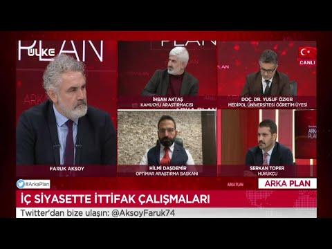 Arka Plan - İhsan Aktaş | Yusuf Özkır | Hilmi Daşdemir | Serkan Toper | 18 Ocak 2021