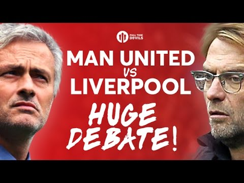 MANCHESTER UNITED VS LIVERPOOL! The HUGE Debate w/ The RedMen TV