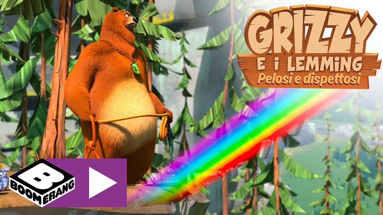 Download Grizzy e i lemming   Alla conquista dell'arcobaleno   Boomerang Italia