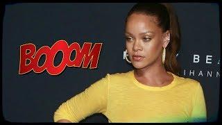 Oups ! Rihanna sort encore sans soutien-gorge !