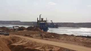 See the first appearance of the new Suez Canal water and crackers in the Kilo 81 January 2015