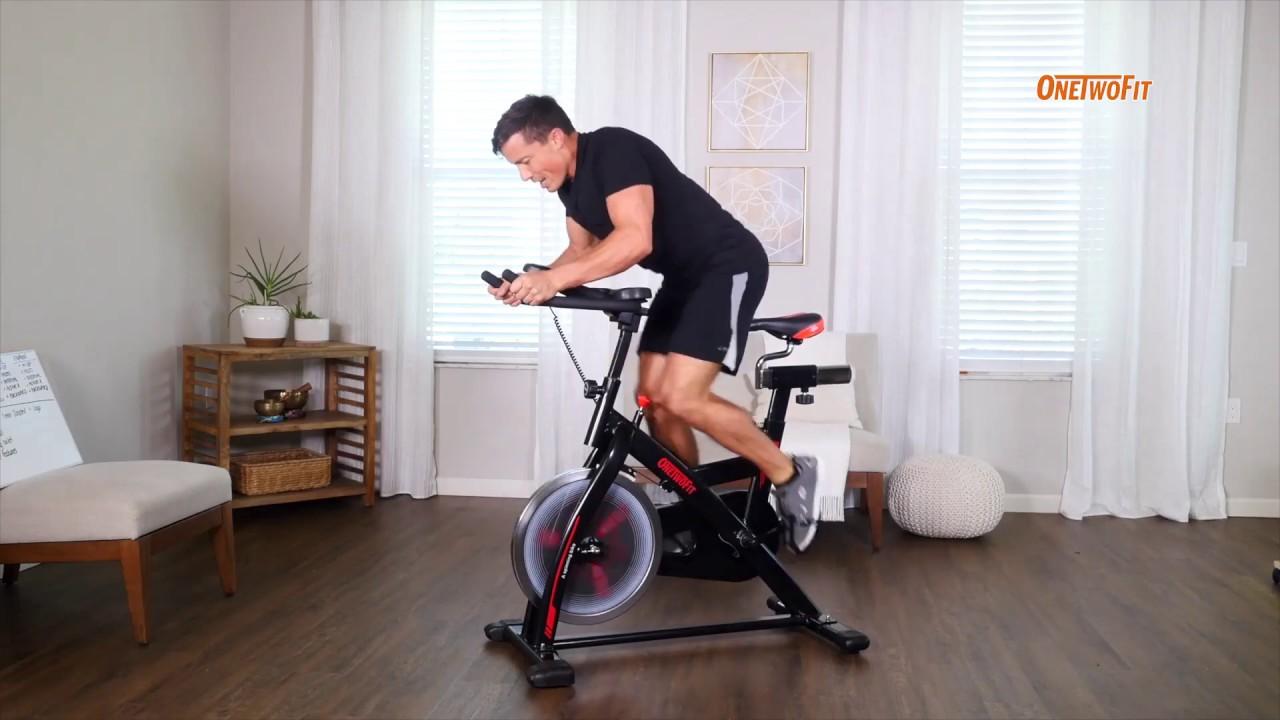 Indoor Cycling Bike OT124 | ONETWOFIT