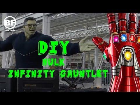 How To Make Hulk's Infinity Gauntlet from Avengers: Endgame