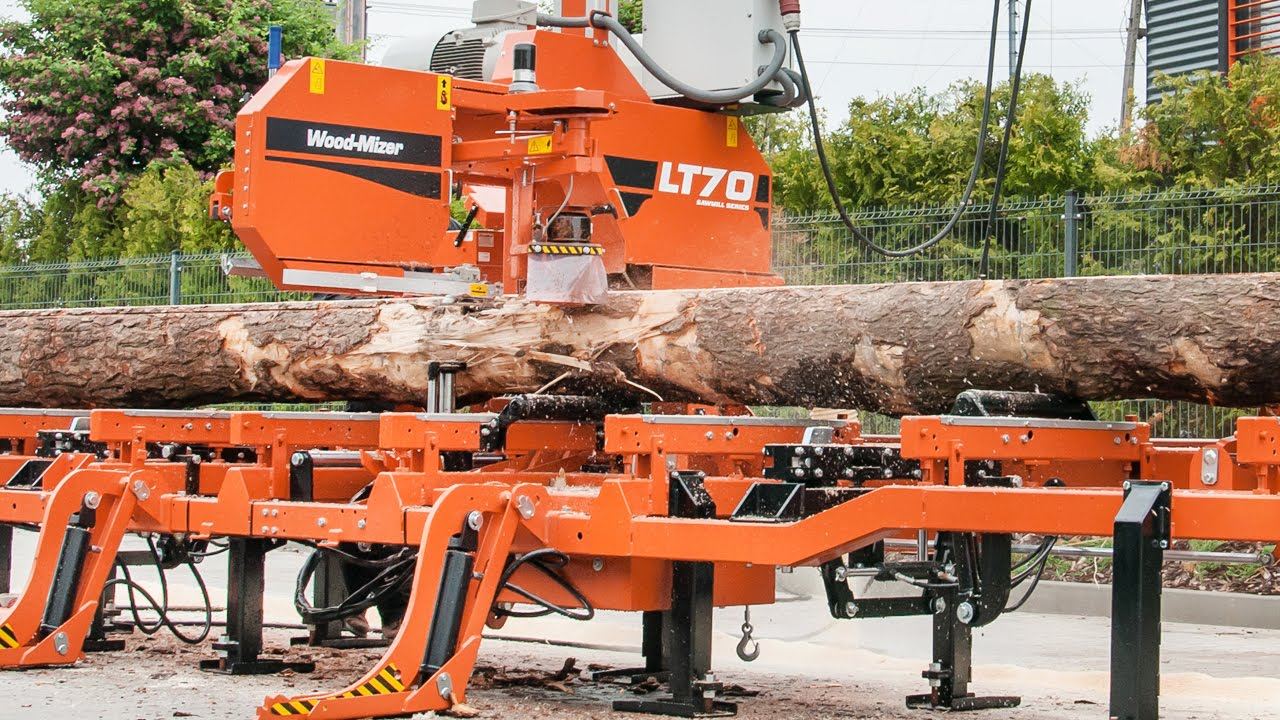Saw Mill For Sale >> Wood-Mizer LT70 high production, stationary sawmill – Wood