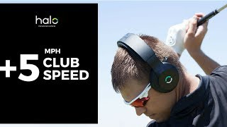 Pro Golf Coach Terry Rowles and his golfers add +5 MPH to his club speed with Halo Sport