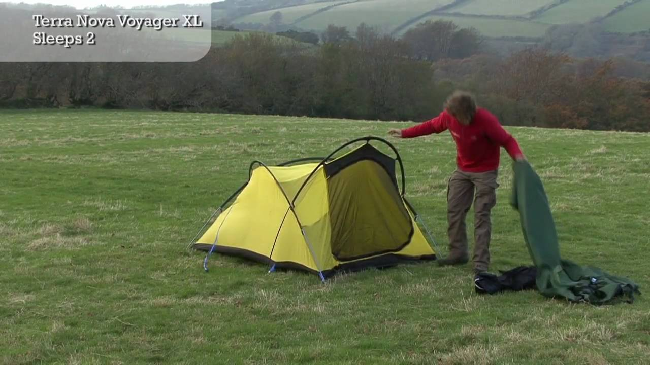 & Terra Nova Voyager - Tent Pitching Video - YouTube