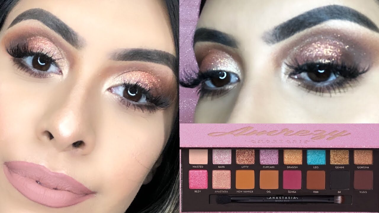 ABH X AMREZY PALETTE REVIEW & TUTORIAL! BARBIE GLAM 💕