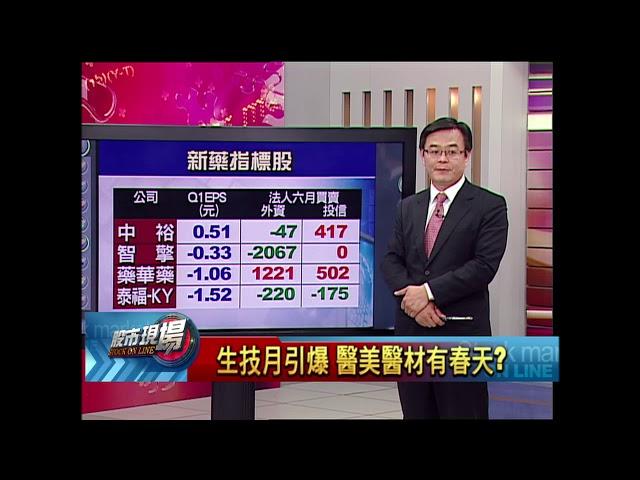 股市現場*鄭明娟20180627-6【題材一波波 7月生技月醫材股喝了再上?】(賴建承)