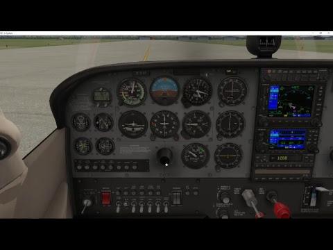X-Plane 11 - Flying Around the South Salt Lake Valley