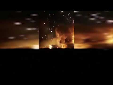 BREAKING NEWS: SYRIAN BASE ATTACKED WITH MISSILES - May. 24, 2018