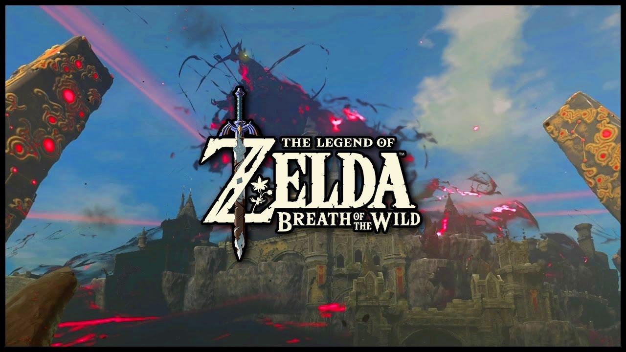 Entering Hyrule Castle The Legend Of Zelda Breath Of The Wild Youtube