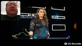 Nia Jax & Ember Moon Vs Mickie James & Alicia Fox WWE Raw - DTMP Wrestling Talk