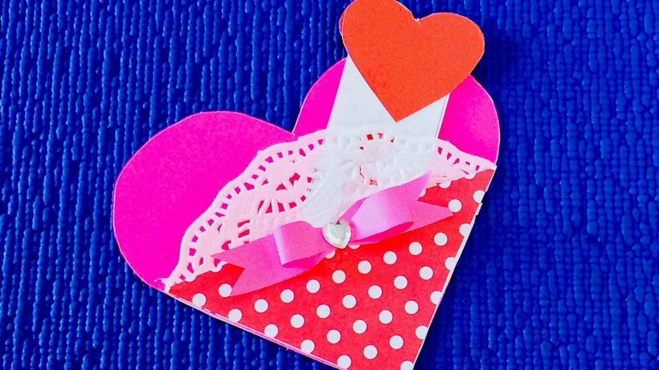 Валентинки простые своими руками фото