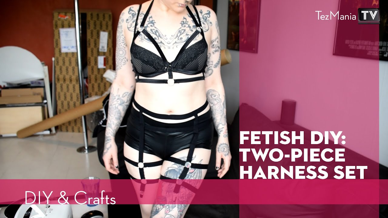 DIY - two piece harness set - YouTube