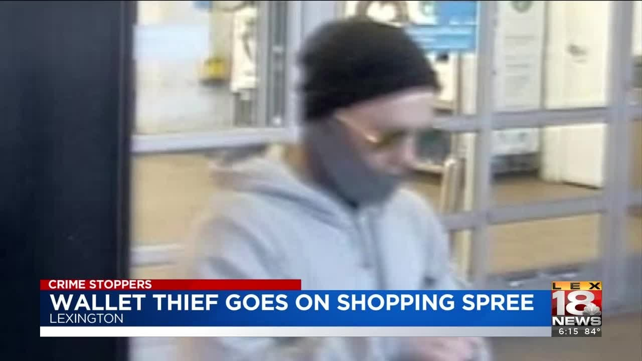 Crime Stoppers: Thief Steals Wallet From Vehicle