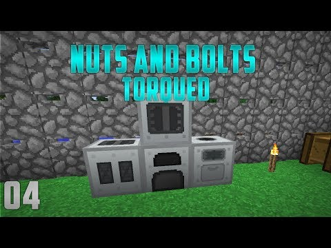 Minecraft Nuts and Bolts Torqued EP4 Starting IndustrialCraft 2
