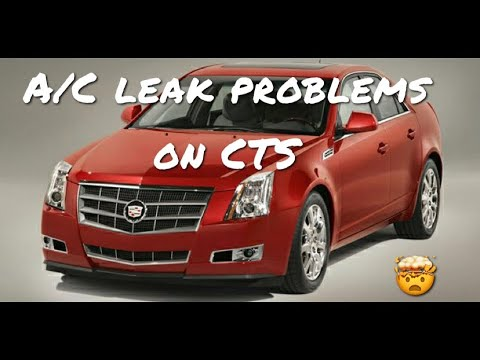 2008 cadillac cts a/c water leak
