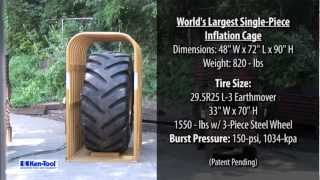 HUGE TIRE EXPLOSION: Ken-Tool Introduces the World