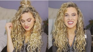 Holiday Hairstyles for Waves/Curls | India Batson