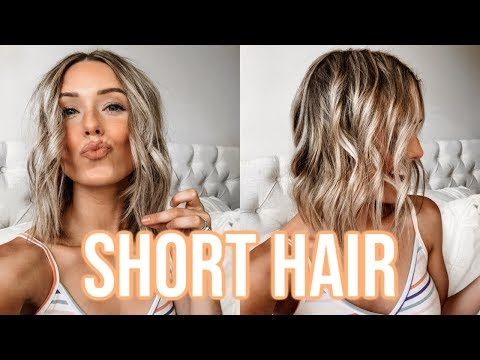 HOW TO CURL SHORT HAIR | EASY WAVES TUTORIAL