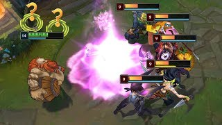 PERFECT PLAYS MONTAGE (AP Gragas Pentakill Lux ULT OneShot)