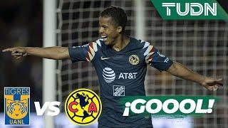 Gol De Las Águilas Dos Santos Anota Tigres 0 3 América Liga Mx AP19 4tos De Final TUDN