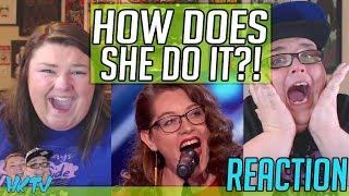 Mandy Harvey: Deaf Singer Earns Simon's Golden Buzzer With Original Song - AGT REACTION!!