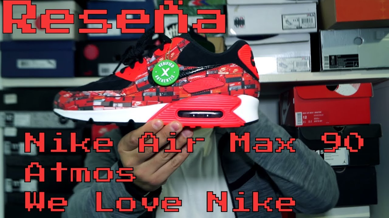 db75c10e Reseña Nike Air Max 90 Atmos We Love Nike y StockX - YouTube