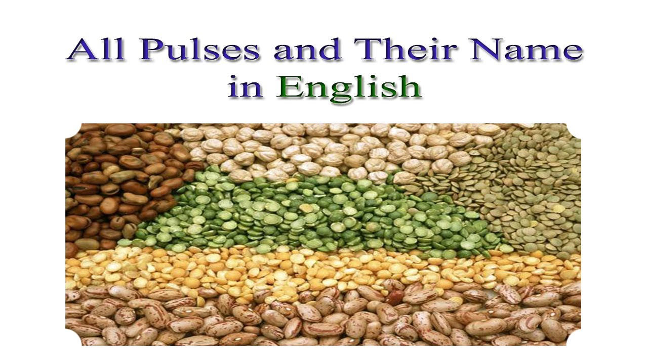 All Pulses and Their Names in English | Pulses Names in English #1